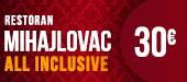 restoran Mhajlovac - nova godina doček ponude kafane restorani Beograd 2016