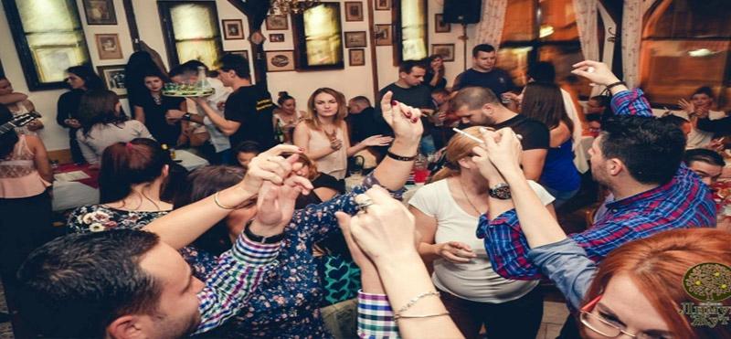 Doček Nove godine u kafani Limun Žut - Beograd