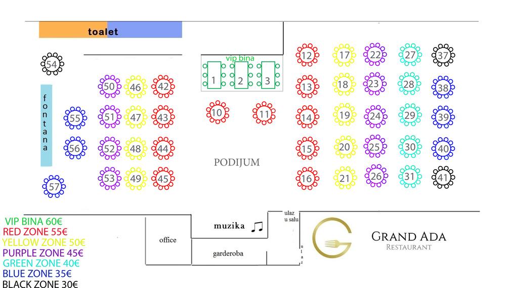 restoran grand ada mapa sedenja