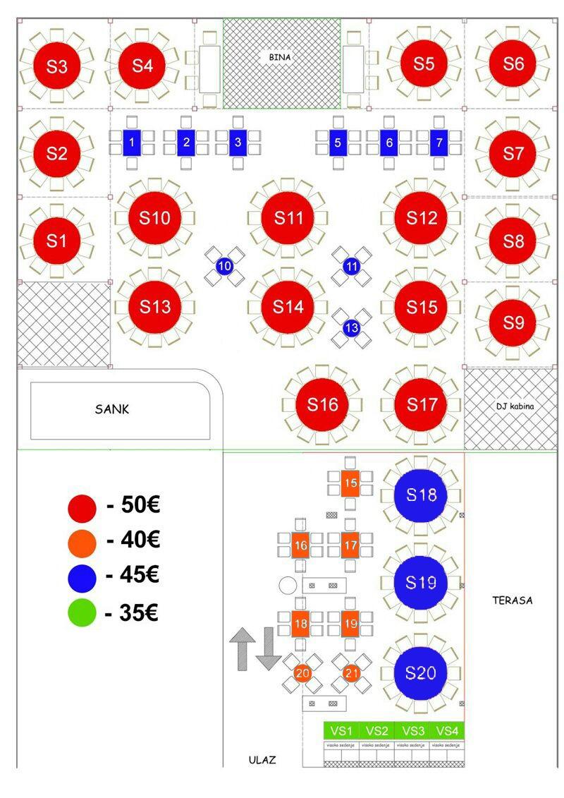 splav amsterdam mapa sedenja