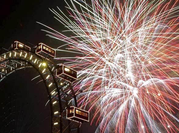 Doček Nove  godine  Beč