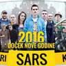 Beograd ponovo pleše - SARS doček 2016.