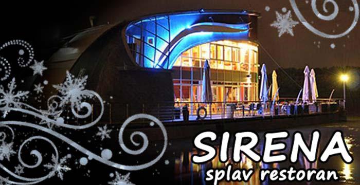 splav restoran sirena srpska nova godina