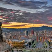 Doček Nove 2017. godine Barselona