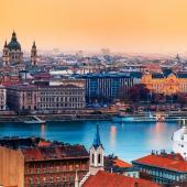 Nova godina Budimpešta 2017