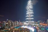 Doček Nove 2017. godine u Dubaiju